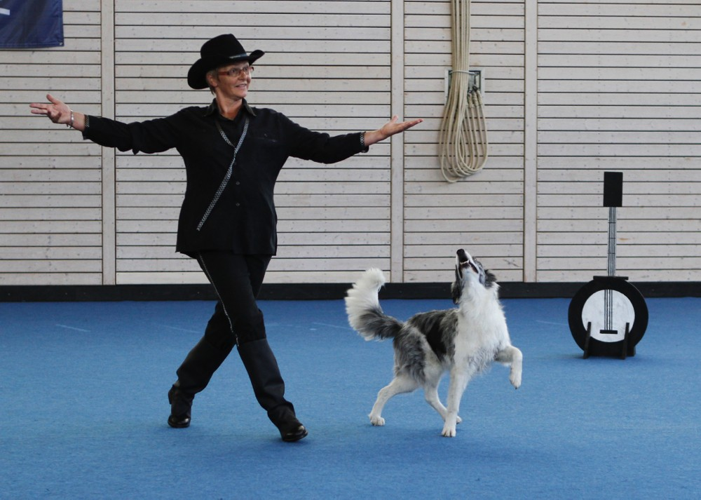 Pyla am internationalen Dogdanceturnier in Dachau